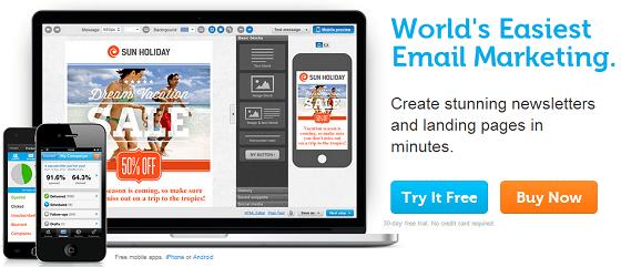 GetResponse Email marketing and autoresponder sofware