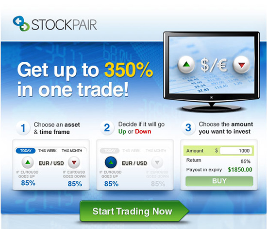 Stock pair trading platform game