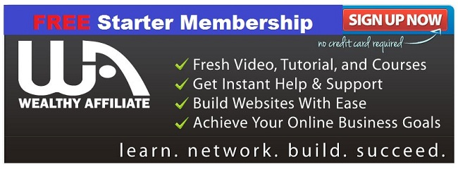wealthy affiliate website banner