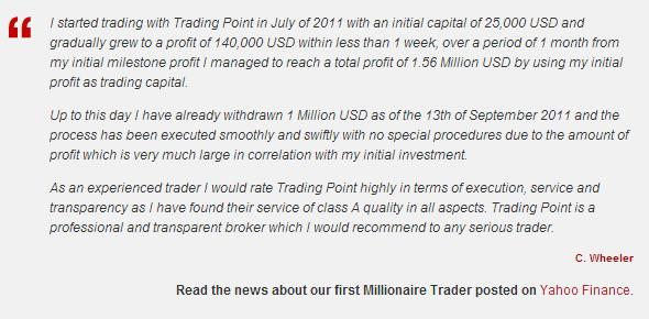 XM - online forex trading customer testimonial