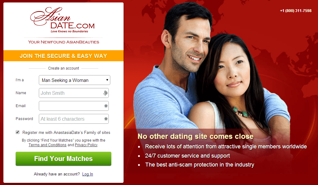 Completly free asian dating sites