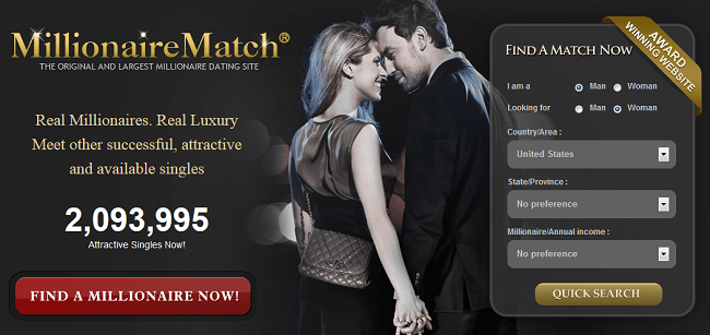 Millionaire March.com - The best and largest dating website of the world