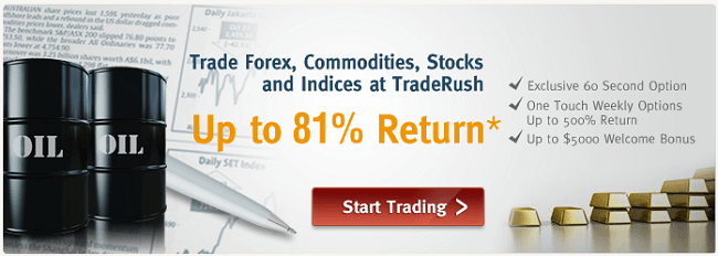 TradeRush Forex Trading and Binary Options