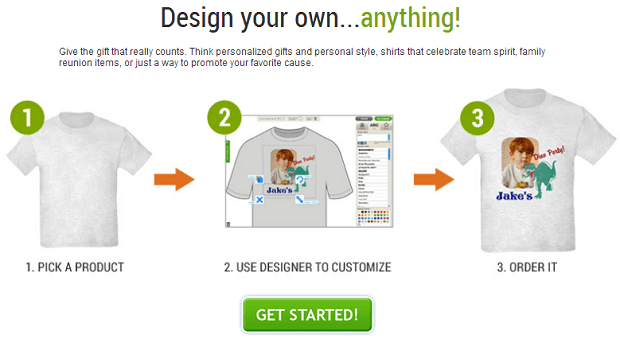Cafepress- best user generated retail store