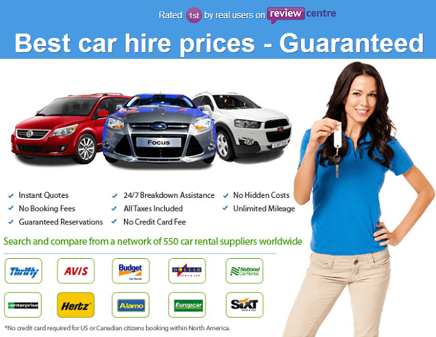Rentalcars.com - worldwide online car rentals