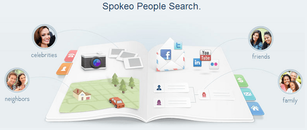 Spokeo.com - online search engine for people, white pages and social profiles