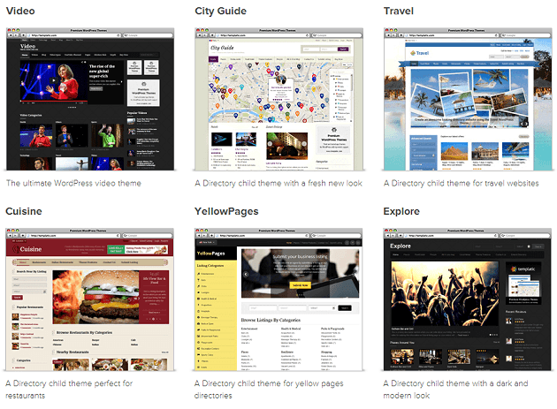 templatic.com - Online web templates and themes providers