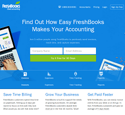 Giveaway Open Accounting Software Freshbooks