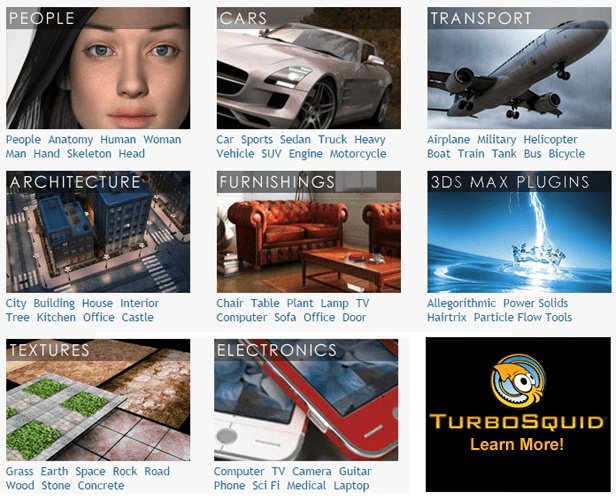 TurboSquid.com - 3D models for Professionals