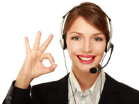 customer support girl