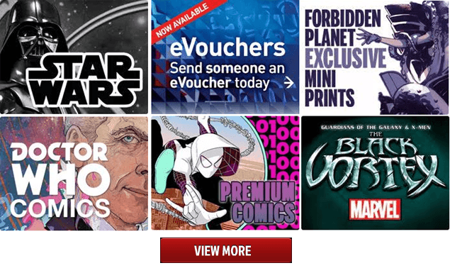 ForbiddenPlanet.com - World's largest supplier of science fiction, fantasy, and cult entertainment items