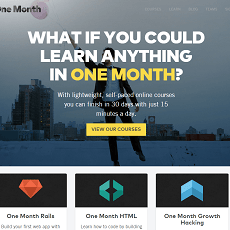 OneMonth.com Review