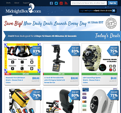 Midnighbox.com - Online website for cheap gadgets, electronics and daily deals