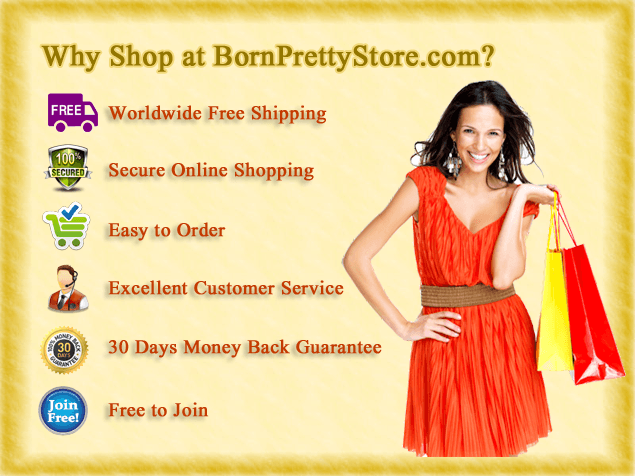 BornPretty.com - Online retailer store for beauty and lifestyle products, nailart and more