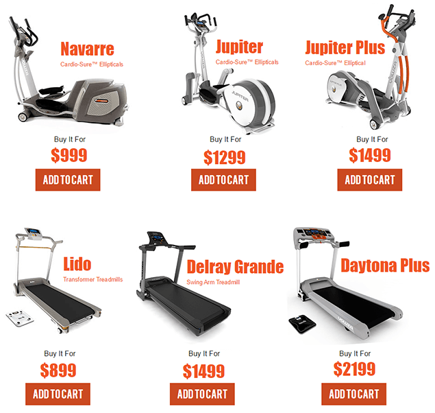 Yowzafitness.com - Buy best rated ellipticals and teadmills online