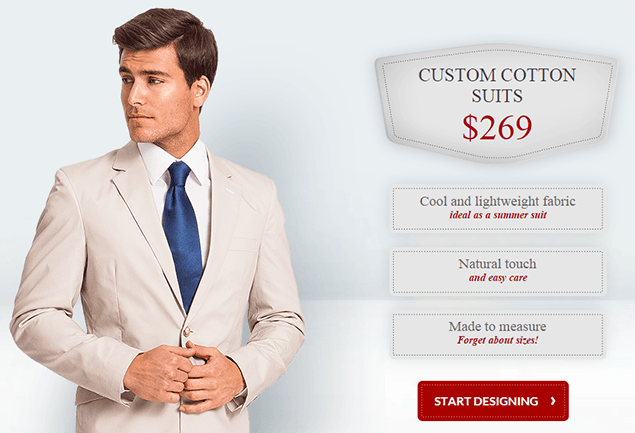 Tailor4Less.com - Online site for men's custom clothing, custom shirts, custom suits, pants, jackets and more