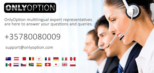 OnlyOption.com - Online binary option trading platform