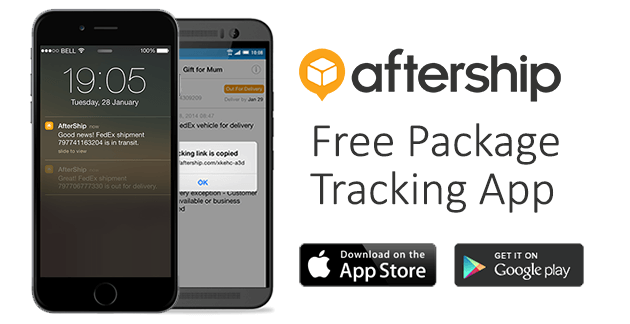 Aftership.com - Track and Audit shipments for free