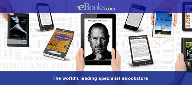 Ebooks.com - The World's Leading specialiast  eBook Store
