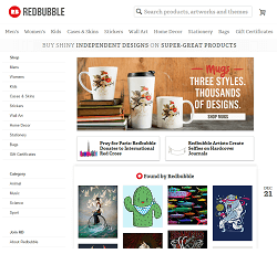 Redbubble.com - The online selling platform for independent artists
