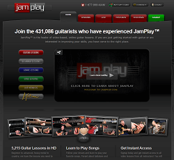 Jamplay.com - Online Guitar Lessons with HD Videos