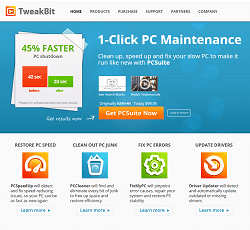 Tweakbit - PC improvement and maintenance software