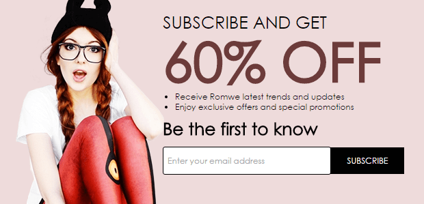 Romewe.com - Online women clothing and accessories store
