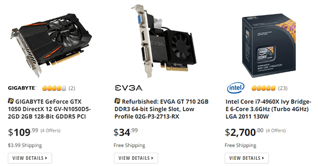 NewEgg.com - Buy computer parts, laptops, electronics and more