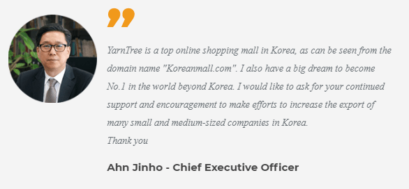 leading online shopping site of South Korea