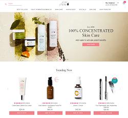 100percentpure.com - buy pure and organic cosmetics online